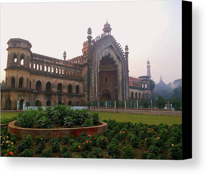 City Canvas Print featuring the photograph Rumi Gate by Atullya N Srivastava