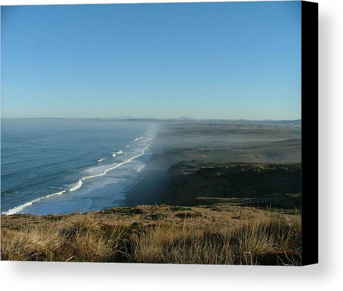 Sea Scapes Canvas Print featuring the photograph A Little Slice Of Heaven by Donna Thomas