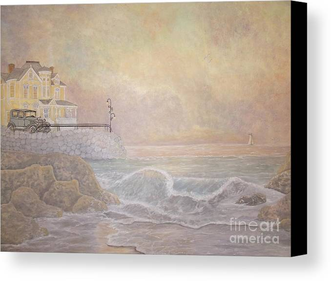Heavenly Home Canvas Print featuring the painting Almost Heaven by Patti Lennox