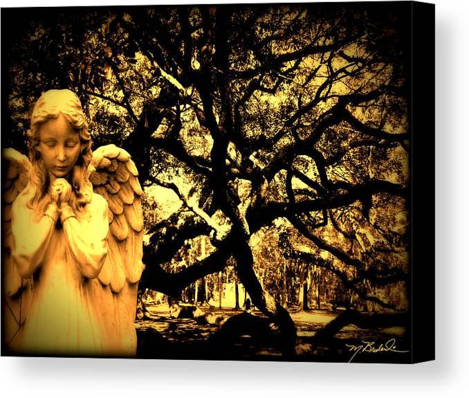 Angel Oak Canvas Print featuring the photograph Angel Oak by Melissa Wyatt