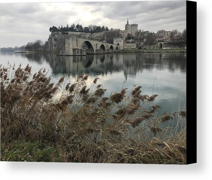 Avignon Canvas Print featuring the photograph Avignon by Ralph Grizzle