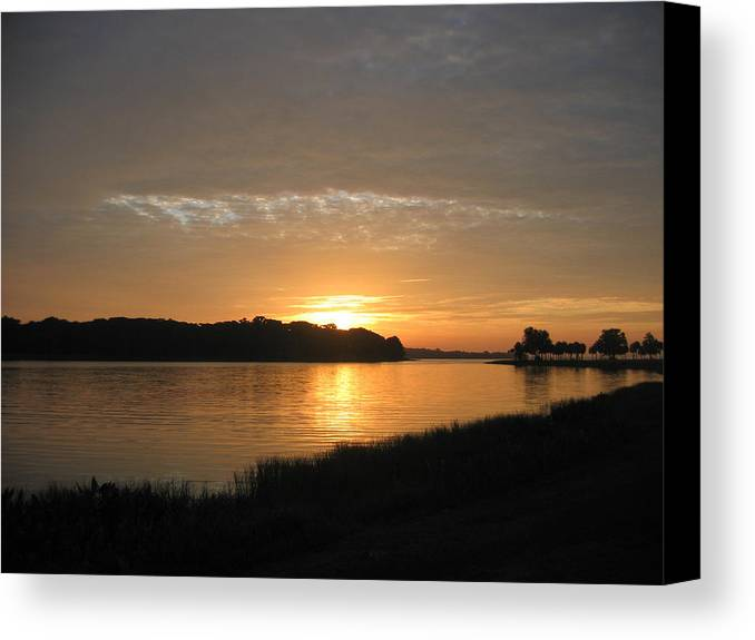 Sunrise-sunset Photographs Canvas Print featuring the photograph Beginning Light by Frederic Kohli