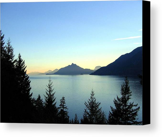 Howe Sound Canvas Print featuring the photograph Captivating Howe Sound by Will Borden