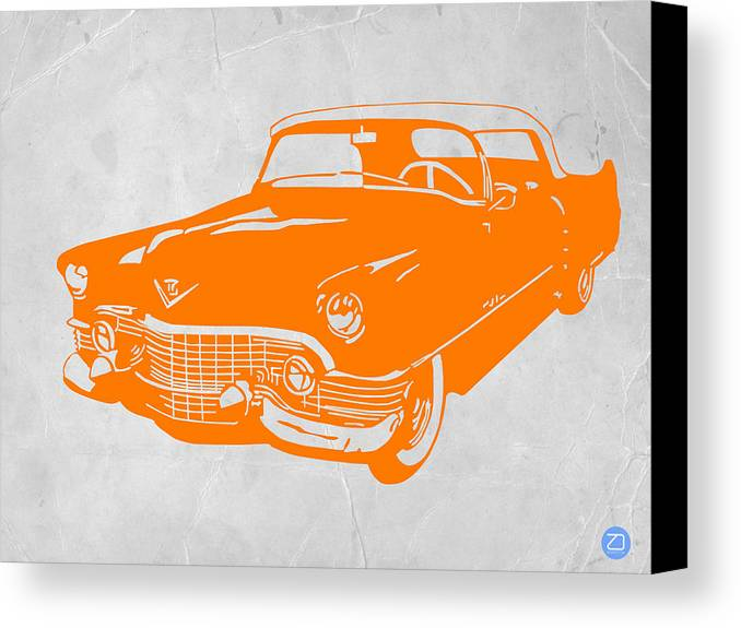 Chevy Canvas Print featuring the drawing Classic Chevy by Naxart Studio