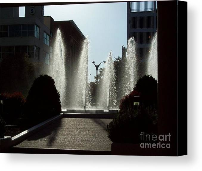 St. Louis Canvas Print featuring the photograph Cool In St. Louis by Denise Workheiser