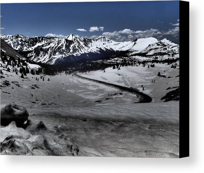 Buena Canvas Print featuring the photograph Cottonwood Pass by Lora Louise