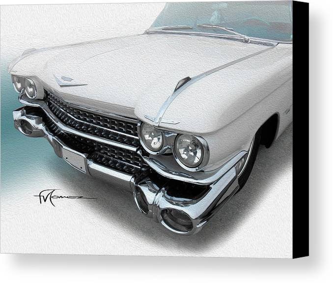 Classic Automobiles Canvas Print featuring the photograph Huffin And Puffin by Felipe Gomez