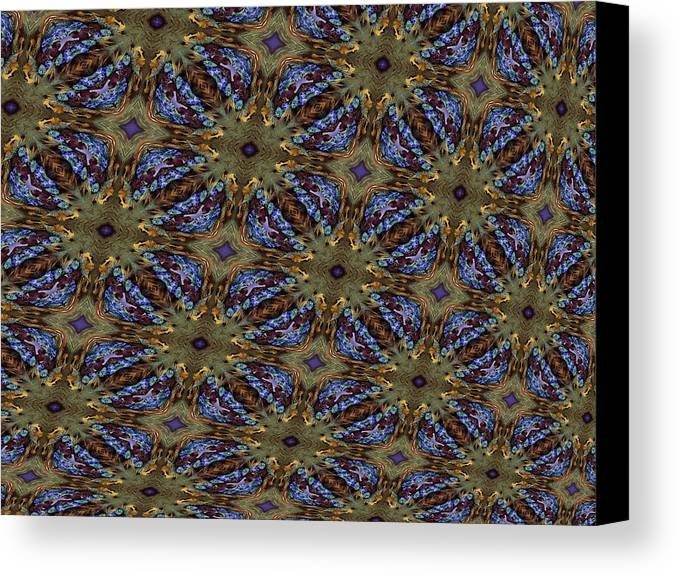 Linen Canvas Print featuring the photograph Fabric Fantacy by Ricky Kendall