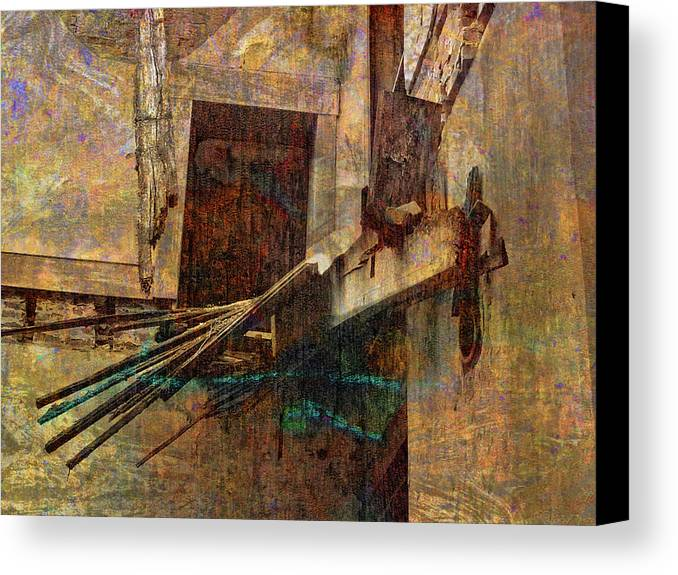 Old Canvas Print featuring the photograph Floor No More by Bob Welch