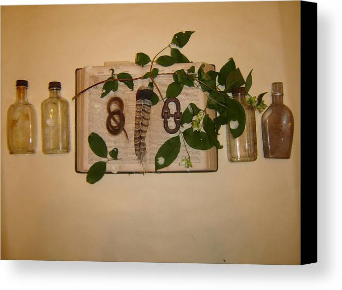 Still Life Canvas Print featuring the photograph From '26 by Dean Corbin