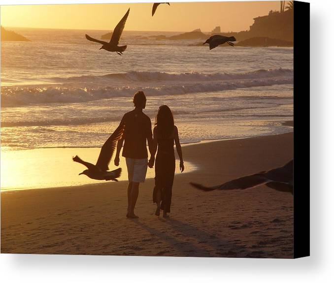 Laguna Canvas Print featuring the photograph Heaven by John Loyd Rushing