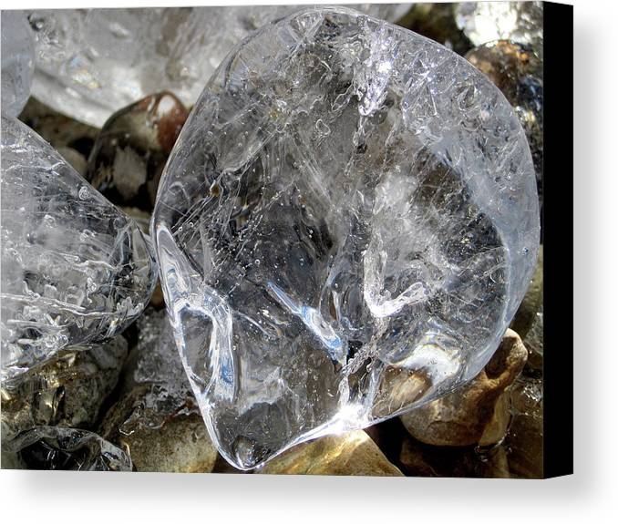 Ice Canvas Print featuring the photograph Ice II by Alexandra Nielsen