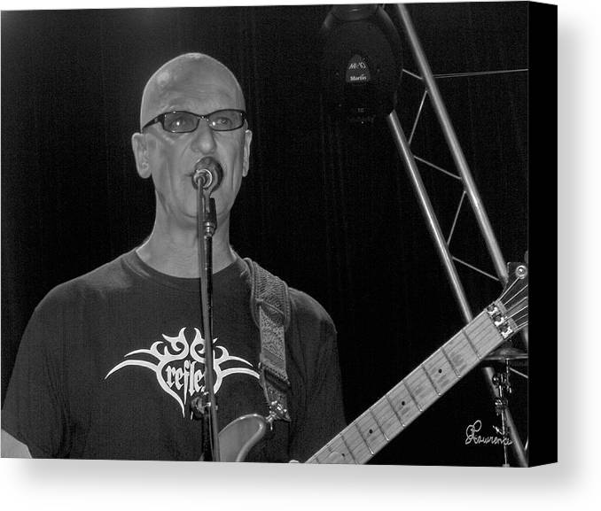 Kim Mitchell Band Rock And Roll Music Concerts Star Lead Singer Canvas Print featuring the photograph Kim Mitchell by Andrea Lawrence