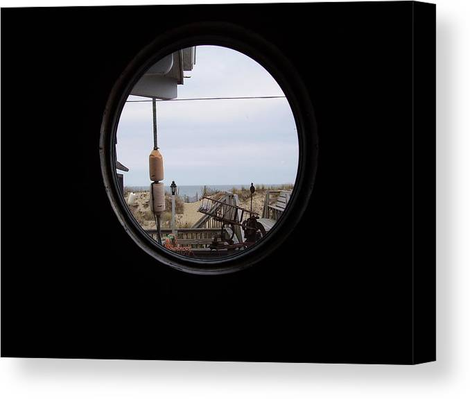 Kitty Hawk Canvas Print featuring the photograph Kitty Hawk by Flavia Westerwelle