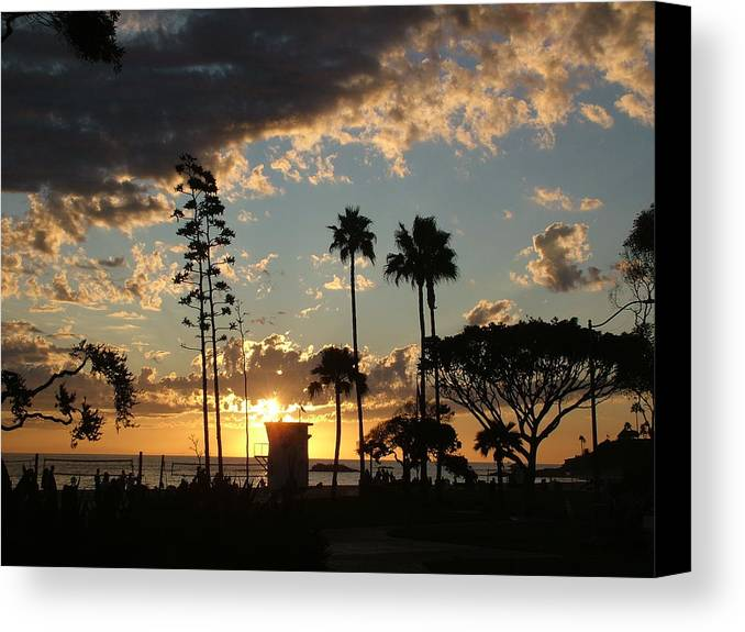 Laguna Canvas Print featuring the photograph Laguna's Glory by John Loyd Rushing