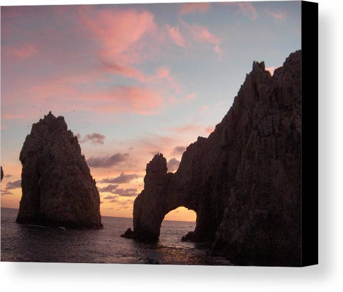Lands End Canvas Print featuring the photograph Lands End by Janet Hall