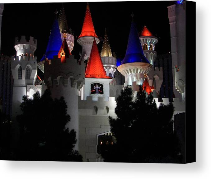 Vegas Canvas Print featuring the photograph Magical Vegas Nights by Kim