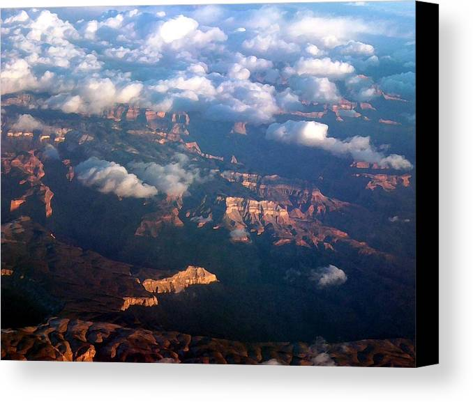 Grand Canyon Canvas Print featuring the photograph Magnificent Grand Canyon by Janet Hall