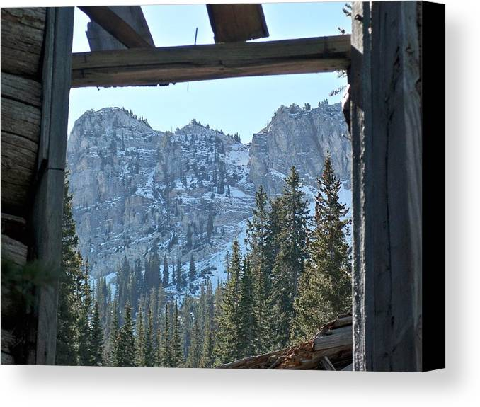 Mountain Canvas Print featuring the photograph Miners Lost View by Michael Cuozzo