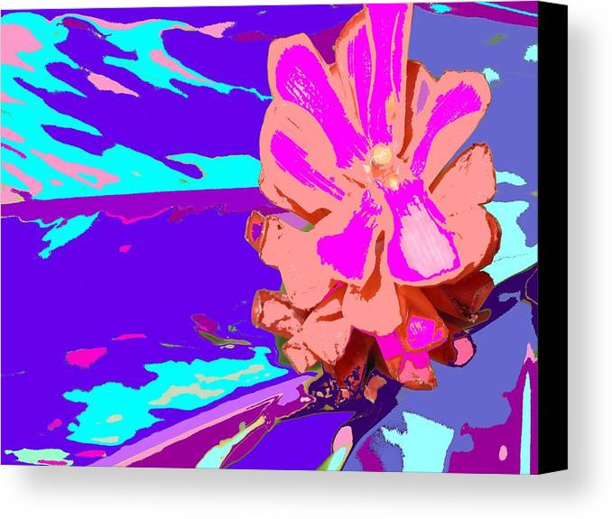 Flower Canvas Print featuring the photograph Mystical Flower by Ian MacDonald