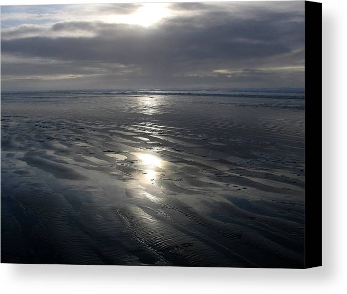 Ocean Canvas Print featuring the photograph Ocean Shores by Ty Nichols