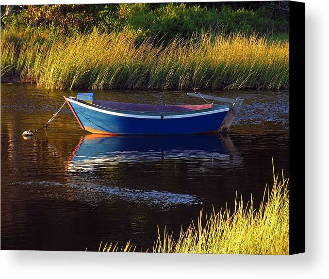 Solitude Canvas Print featuring the photograph Peaceful Cape Cod by Juergen Roth