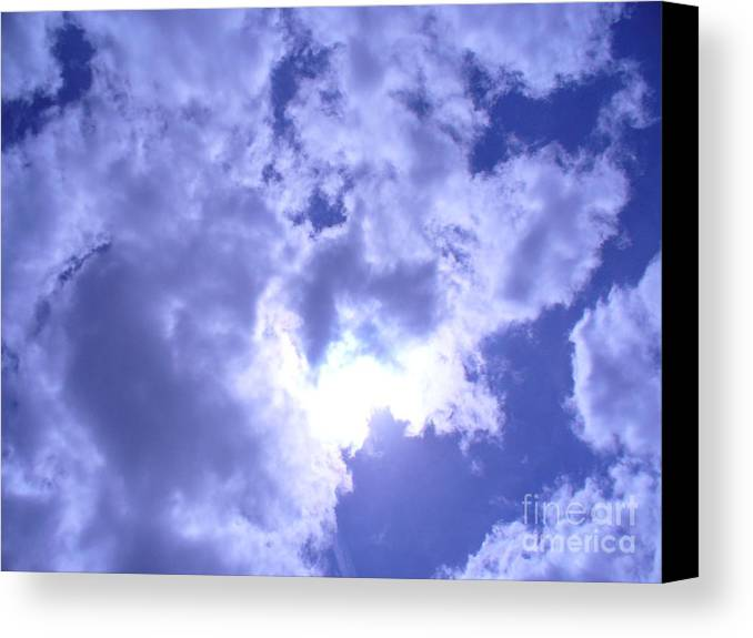Sky Canvas Print featuring the photograph Radiance by Stephanie Richards