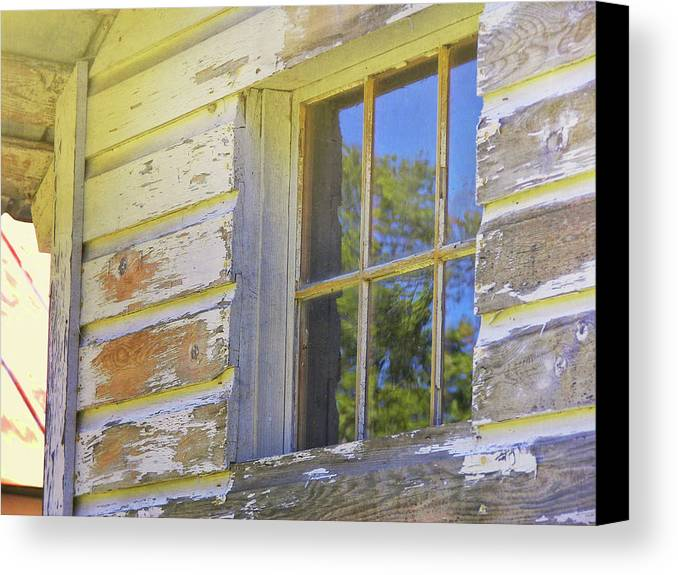 Cabin Canvas Print featuring the photograph River Reflection by JAMART Photography