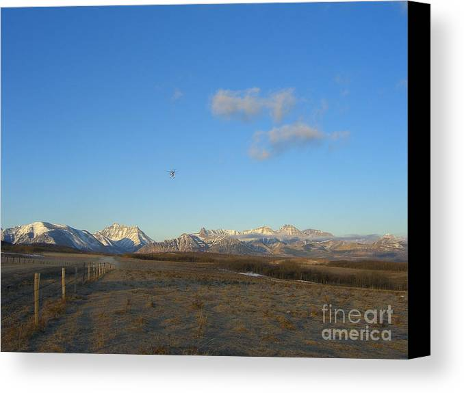 Rockies Canvas Print featuring the photograph Rocky Mountain High by Jim Thomson
