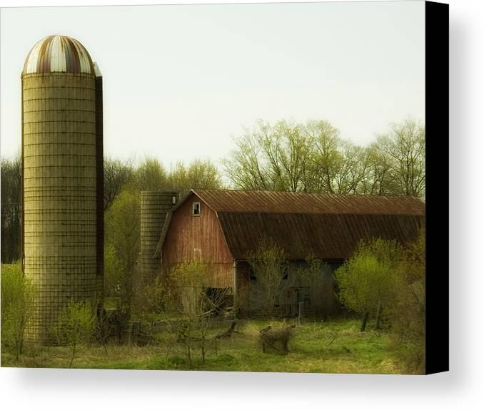 Farm Canvas Print featuring the photograph Rural Americana-02 by Neil Doren