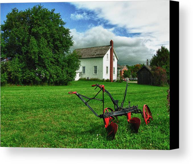 Markham Canvas Print featuring the photograph Rural Heritage by Levin Rodriguez