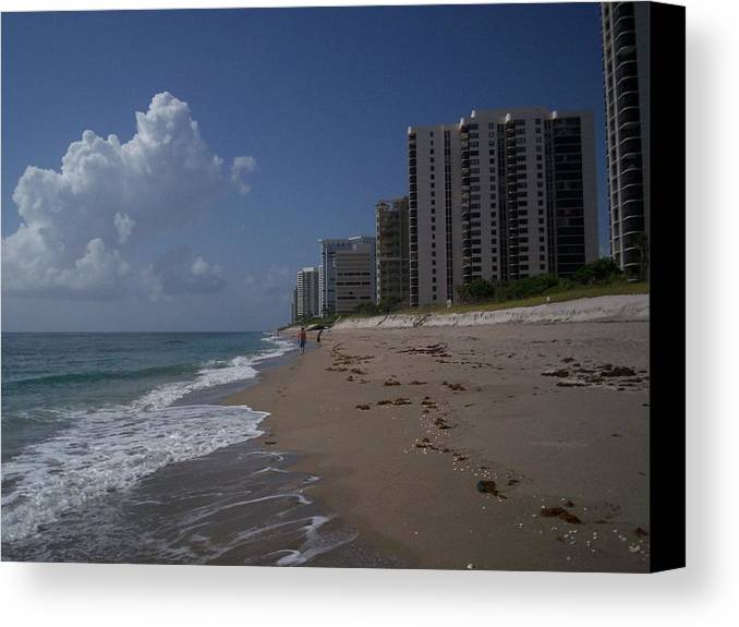 Island Canvas Print featuring the photograph Singer Island by Karen Thompson