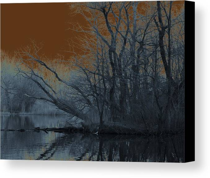 Solarization Canvas Print featuring the photograph Solarization by Kendall Eutemey