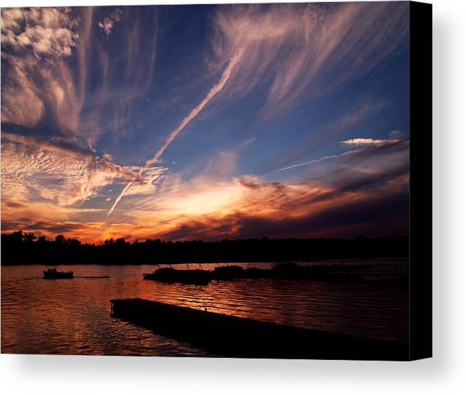Sky Canvas Print featuring the photograph Spirits In The Sky by Gaby Swanson