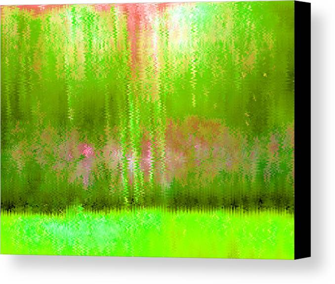 Pink Canvas Print featuring the painting Spring Light by Vicky Brago-Mitchell