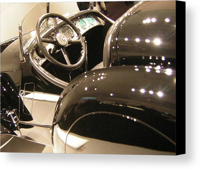 Cars Canvas Print featuring the photograph Steering by Heather Weikel