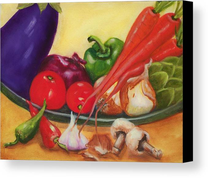Still Life Canvas Print featuring the painting Still Life 4 by Joni McPherson