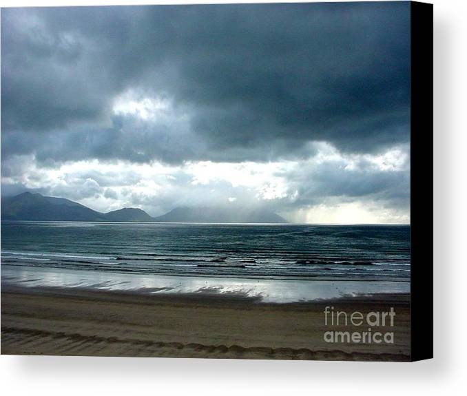 Storm Canvas Print featuring the photograph Storm by PJ Cloud