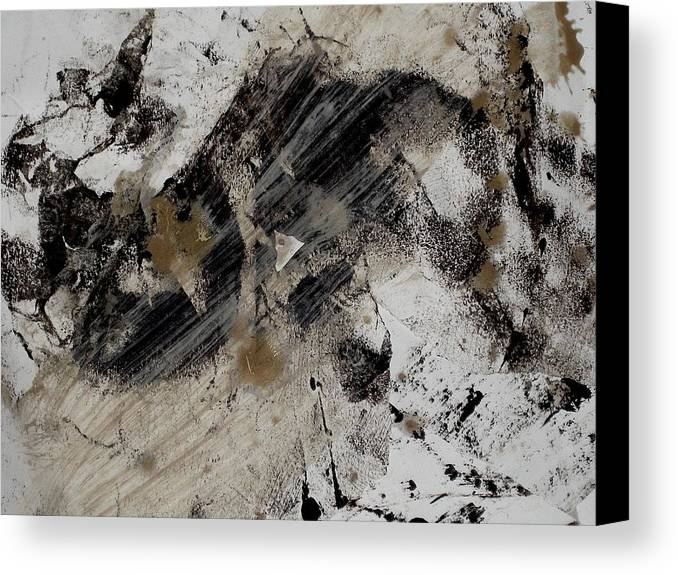 Paper Canvas Print featuring the photograph Studio Floor by Stephen Hawks