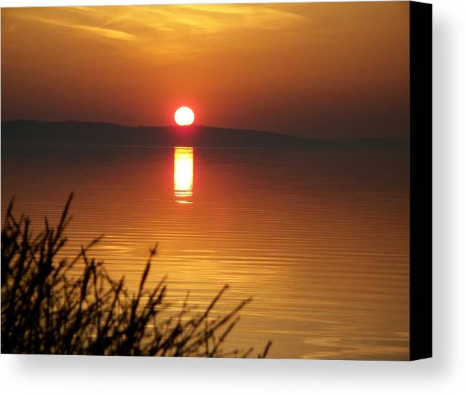Sunrise Canvas Print featuring the photograph Sunrise 5 4 2009 004 by Chris Deletzke aka Sparkling Clean Productions