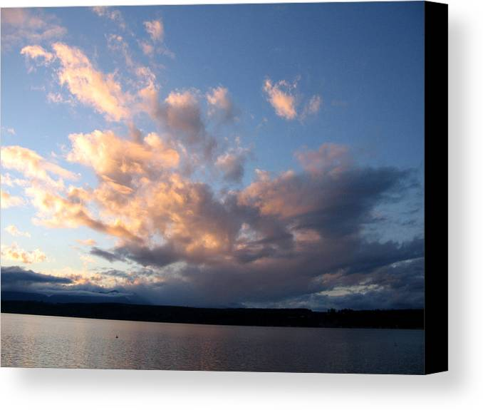 Sunset Canvas Print featuring the photograph Sunset Two by Ty Nichols