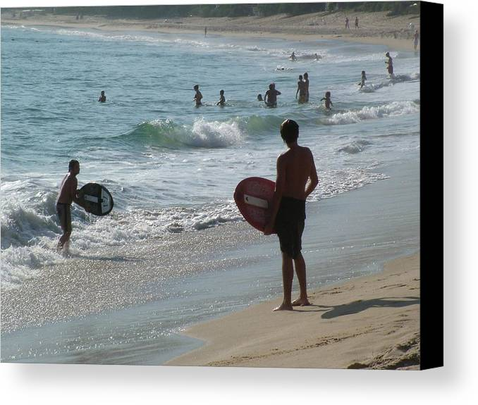 Laguna Beach Canvas Print featuring the photograph That Perfect Wave by John Loyd Rushing