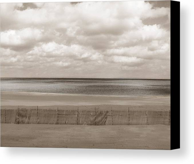 Ocean Canvas Print featuring the photograph The Perfect Sky Is Torn by Dana DiPasquale