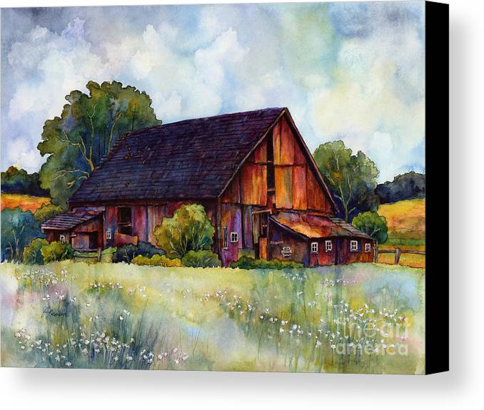 This Old Barn Canvas Print Canvas Art By Hailey E Herrera