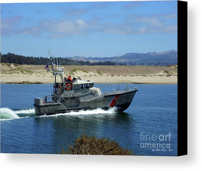 To The Rescue Canvas Print featuring the photograph To The Rescue 2 by Methune Hively