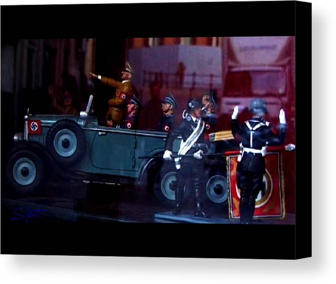 Dream Canvas Print featuring the photograph Triumph In Miniture by Charles Stuart