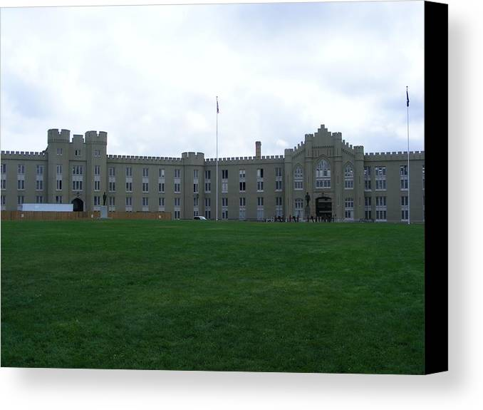 Vmi Canvas Print featuring the photograph Virginia Military Institute by Eddie Armstrong
