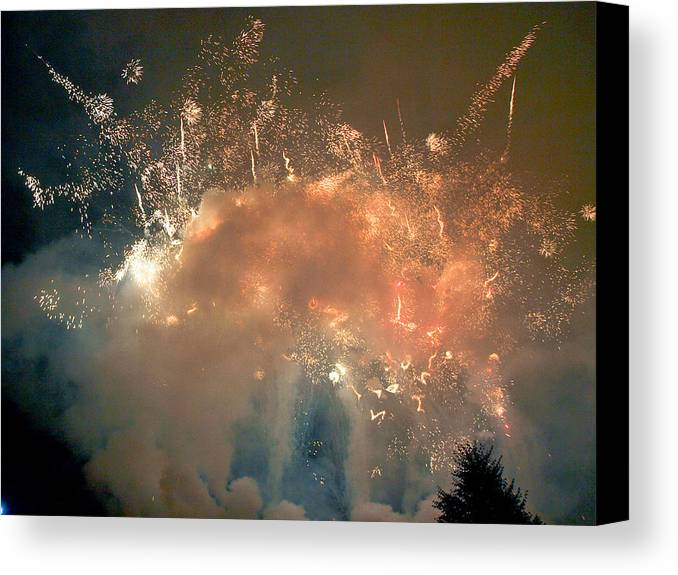 4th Canvas Print featuring the photograph When The Smoke Clears by Jim DeLillo