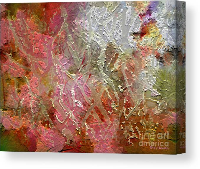 Autumn Canvas Print featuring the photograph Autumn Hues by Dee Flouton
