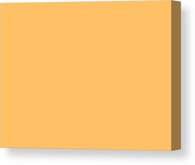 Abstract Canvas Print featuring the digital art C.1.255-192-102.4x3 by Gareth Lewis